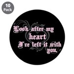 "Edward Heart Twilight 3.5"" Button (10 pack)"