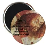 "Euclid: Math and Philosophy 2.25"" Magnet (10 pack)"