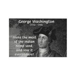 George Washington Rectangle Magnet (10 pack)