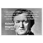 Musician Richard Wagner Large Poster