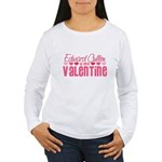 Edward Twilight Valentine Women's Long Sleeve T-Sh