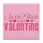 Jacob Twilight Valentine Tile Coaster