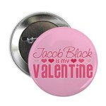 "Jacob Twilight Valentine 2.25"" Button (100 pack)"