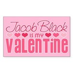 Jacob Twilight Valentine Rectangle Sticker 50 pk)
