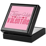 Jasper Twilight Valentine Keepsake Box