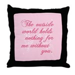Twilight Valentine Throw Pillow