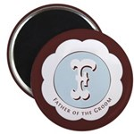 "Market Father of the Groom 2.25"" Magnet (100 pack)"