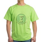 Market Father of the Groom Green T-Shirt