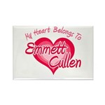 Emmett Cullen Heart Rectangle Magnet (10 pack)