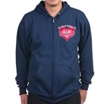 Heart Belongs Twilight Zip Hoodie (dark)