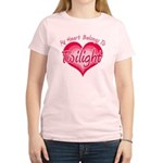 Heart Belongs Twilight Women's Light T-Shirt