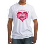 Heart Belongs Twilight Fitted T-Shirt