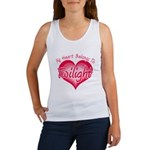 Heart Belongs Twilight Women's Tank Top