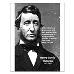 Philosophy / Nature: Thoreau Small Poster