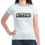 Retroactive Abortion For Libe Jr. Ringer T-Shirt