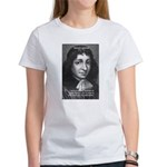 Philosopher Baruch Spinoza Women's T-Shirt