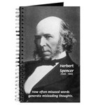 Evolutionist Herbert Spencer Journal
