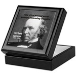 Evolutionist Herbert Spencer Keepsake Box