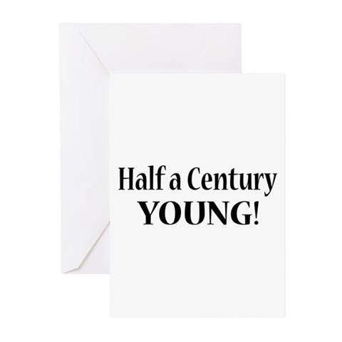Funny 50th Birthday Gifts Greeting Cards (Pk of 20