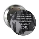 """Lincoln with Sojourner Truth 2.25"""" Button (10 pack"""