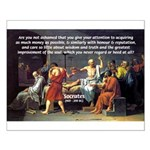 Truth and Wisdom: Socrates Small Poster