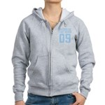 Sister of Bride 09 Women's Zip Hoodie