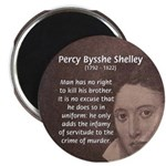 Writer Percy Bysshe Shelley Magnet