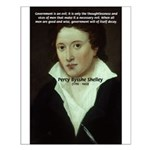 Romantic Writer: Percy Shelley Small Poster