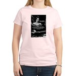 Mary Shelley Frankenstein Women's Pink T-Shirt