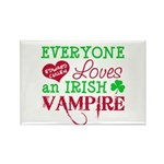 Irish Vampire Twilight Rectangle Magnet (100 pack)