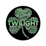 "Twilight Shamrock 3.5"" Button"