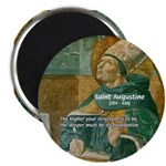 "Saint Augustine of Hippo 2.25"" Magnet (10 pack)"