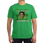 Obama My Lucky Charm Men's Fitted T-Shirt (dark)
