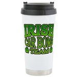 Irish Car Bomb Team Shamrock Ceramic Travel Mug