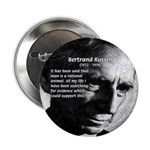 "Bertrand Russell 2.25"" Button (10 pack)"