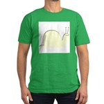 The Pale Snail Men's Fitted T-Shirt (dark)