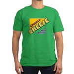 Grilled Cheese Men's Fitted T-Shirt (dark)
