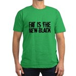 Fat The New Black Men's Fitted T-Shirt (dark)