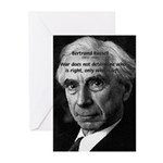 Bertrand Russell Greeting Cards (Pk of 10)