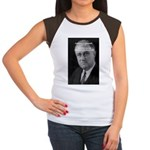 Franklin D. Roosevelt Women's Cap Sleeve T-Shirt