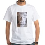 Greek Mathematician Pythagoras White T-Shirt