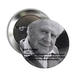 Philosophy Karl Popper Button