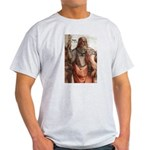 Plato: Philosophy / Equality Ash Grey T-Shirt