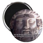 Plato: Wisdom Knowledge Play Magnet