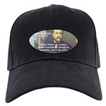 Louis Pasteur: Science Humanity Black Cap
