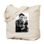 Modern Fable Writer Orwell Tote Bag