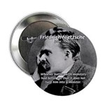 Christian Morality / Nietzsche 2.25&quot; Button (100 p