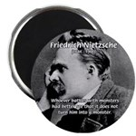 Christian Morality / Nietzsche 2.25&quot; Magnet (100 p