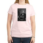 Eternal Poetry Thomas More Women's Pink T-Shirt