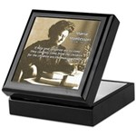 Maria Montessori Education Keepsake Box